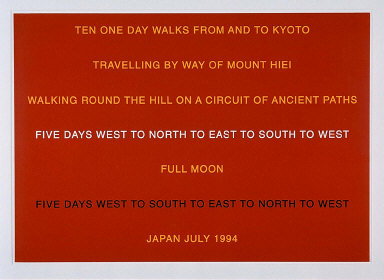 Ten One Day Walks From and To Kyoto, 1996