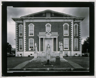Pickens County Courthouse, Carrollton, Alabama, 1976