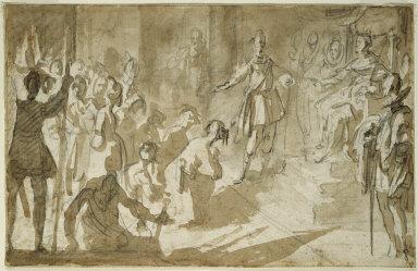 Admiral Inghirami Presenting Berber Prisoners to Ferdinand I of Tuscany
