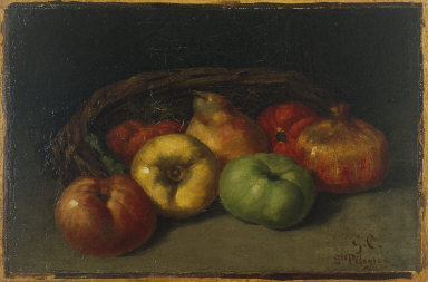Still Life with Apples, Pear, and Pomegranates