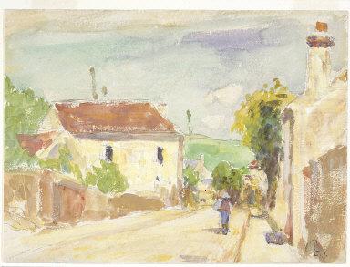 The Rue de l'Hermitage, Pontoise