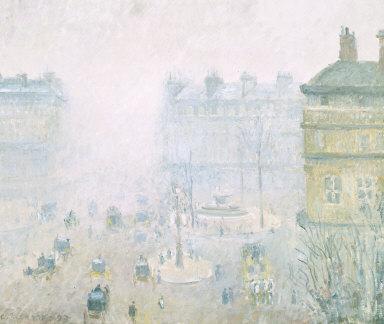 Place du Theatre Francaise: Fog Effect