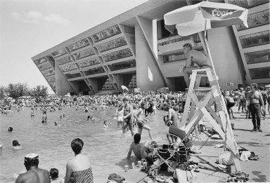 Beach Party, Dallas City Hall