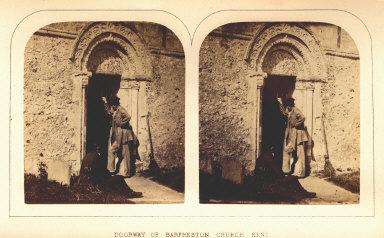 Doorway of Barfreston Church, Kent