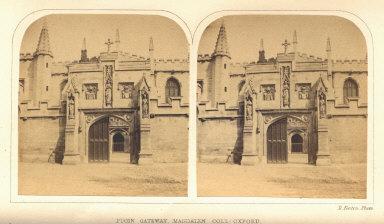 Pugin Gateway, Magdalen Coll., Oxford