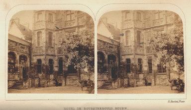 Hotel de Bourgtherould, Rouen