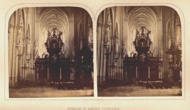 Interior of Bruges Cathedral