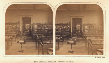 The Mineral Gallery, British Museum