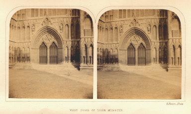 West Door of York Minster