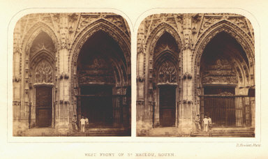 West Front of St. Maclou, Rouen