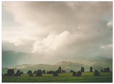 Castelrigg Stone Circle, Lake District, England