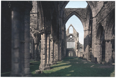 Tintern Abbey Interior, West Window (after Sir John Herschel)