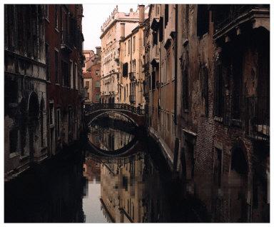 Rio della Fava at Dawn, Venice