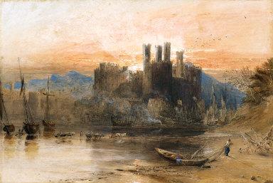 Caernarvon Castle, North Wales