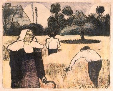 "Le moissonneur (The Harvester), from ""Les Brettoneries"""