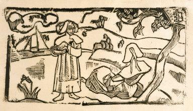 Deux Bretonnes (Two Breton Women)