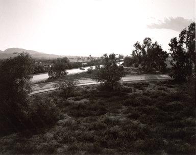 Looking Toward Los Angeles, Interstate 10, West Edge of Redlands, California