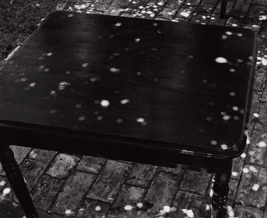 Sunspots on Uncovered Table