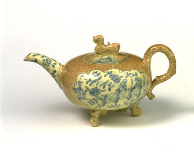 EARTHENWARE TEAPOT
