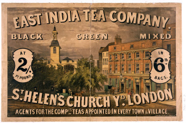 POSTER: East India Tea Company