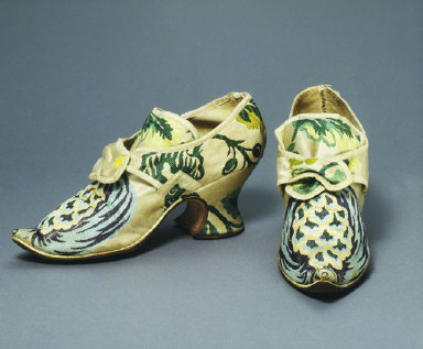 SILK COVERED SHOES