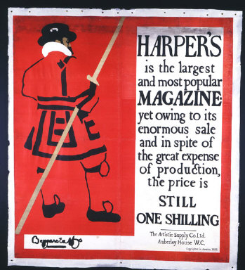 POSTER: Harper's Magazine