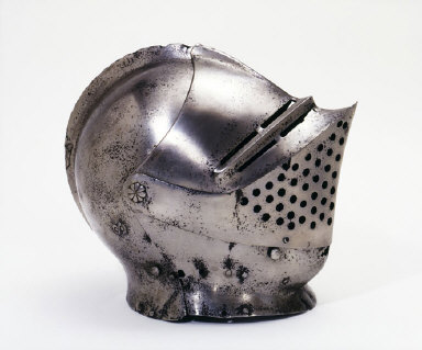 HELMET from a suit of Greenwich armour