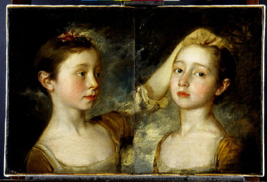 MARY AND MARGARET GAINSBOROUGH, the artist's daughters