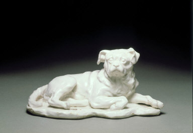 FIGURE of Hogarth's dog 'Trump'