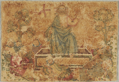 """The Resurrection"": Embroidered Panel from an Altarpiece"
