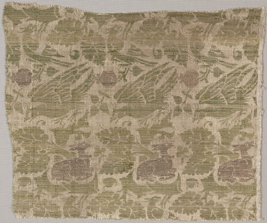 Silk and Gold Textile