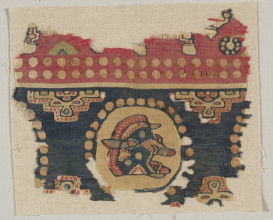 Textile with Boar's Head