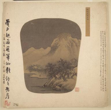 Fan-shaped Album Painting