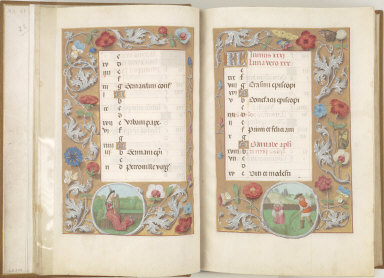 Hours of Queen Isabella the Catholic, Queen of Spain: May, fol. 6 (verso)