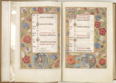 Hours of Queen Isabella the Catholic, Queen of Spain: September, fol. 10 (recto)