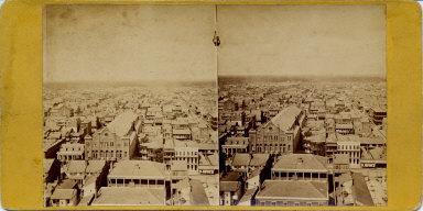 New Orleans city blocks