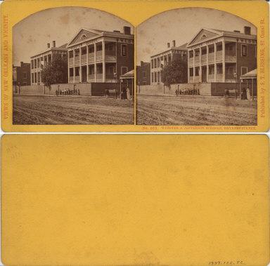 Webster and Jefferson schools Dryades Street