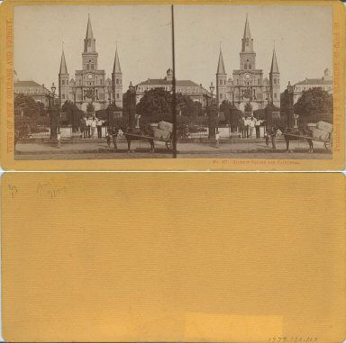 Jackson Square and cathedral