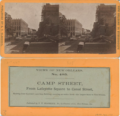 Camp Street from Lafayette Square to Canal Street