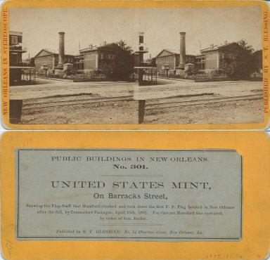 United States mint on Barracks Street