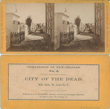 City of the dead side aisle St. Louis No. 1