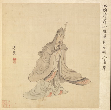 Paintings after Ancient Masters: Portrait of T'ao Yüan-ming