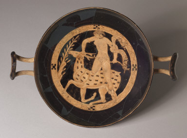 Kylix with Scene of Artemis and Stag