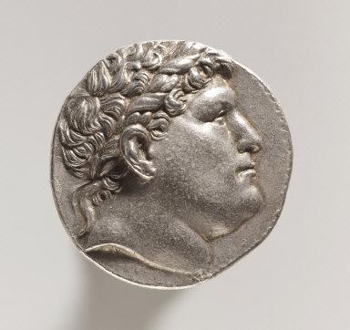 Tetradrachm: Head of Philetauros with Laureate Diadem (obverse)