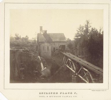 Inclined Plane F, Delaware and Hudson Canal Co.