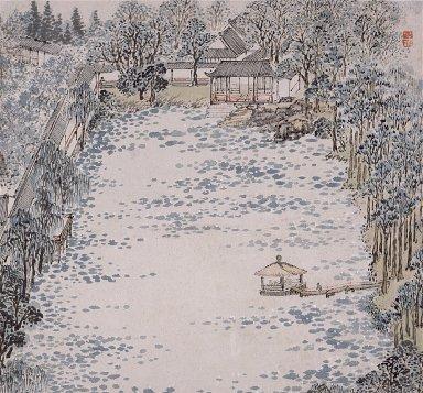 Painting of Zhi Garden [Zhi Yuan Tu]