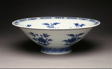Bowl (Wan) with Floral Sprays