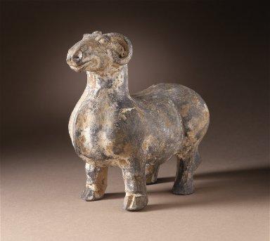 Funerary Sculpture of a Ram