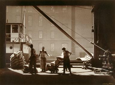 Dock Workers, Pratt Street