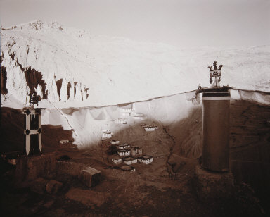 From the Monastery Roof, Spiti, India